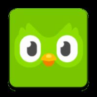 duolingo premium logo