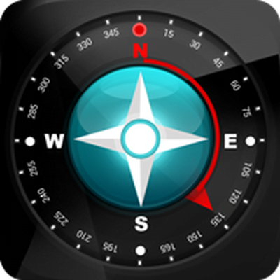 compass 54 all in one logo icon